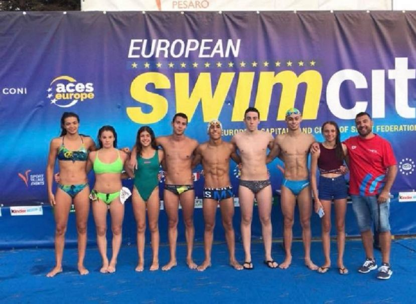 Cagliari. Prestigioso risultato all'European Swim City 2018